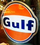 Click to view larger image of GULF OIL SIGN (Image1)