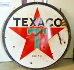 Click to view larger image of TEXACO GAS SIGN (Image1)