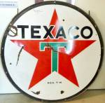 Click to view larger image of TEXACO GAS SIGN (Image2)
