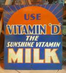 Click here to enlarge image and see more about item 217080406: MILK SIGN