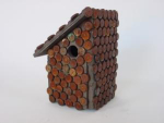Click to view larger image of folk bird house (Image1)