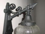 Click to view larger image of iron sconce (Image1)