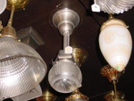 Click to view larger image of VINTAGE single  pendant LIGHT (Image1)