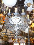 Click to view larger image of EXTRA LARGE IRON HANGING LIGHT FIXTURE (Image2)