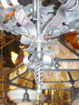 Click to view larger image of EXTRA LARGE IRON HANGING LIGHT FIXTURE (Image3)