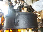 Click to view larger image of Arts and Crafts drum pendant fixture (Image3)