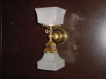 all brass..more available  price per sconce