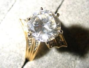 Three Carat Solitaire Ring (Image1)