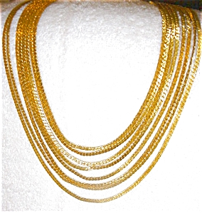 Mecklace from Monet with Braided Strands (Image1)
