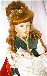 Seymour Mann Porcelain Dolls, Sabrina and Baby (Image1)