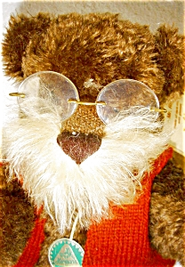 Hermann Mohair Bear, Mr. Rudy, German Artist