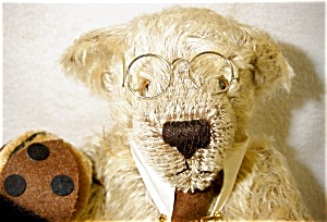 Hermann Y2k Bug Mohair Bear