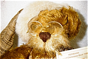 Hermann 1999 Annual Christmas Bear