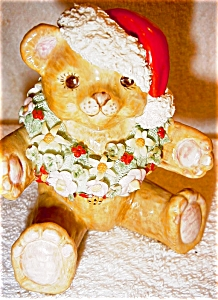 Irish Dresden Santa Bear (Image1)