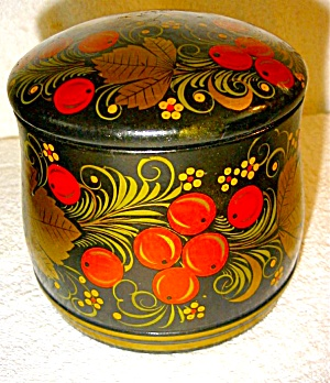 Russian Jar, Cup. Cannister and Spoon (Image1)