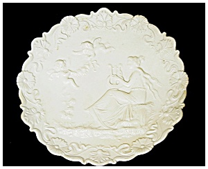 Wall Plaque -Bisque Porcelain (Image1)