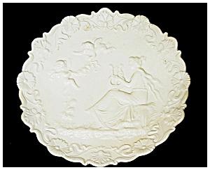 Wall Plaque -Bisque Porcelain (Image1)