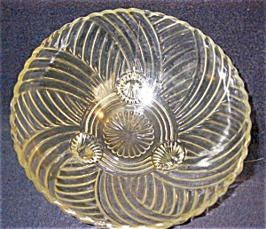 Pattern Glass Serving Bowl