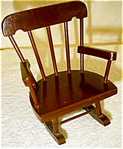 Wooden Doll Rocker (Image1)
