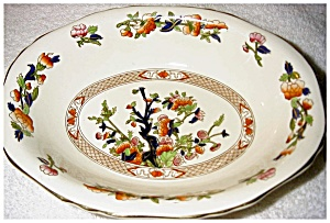 Serving Bowl In Indian Tree Pattern
