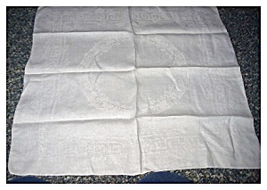 Vintage Jacquard Tablecloth (Image1)