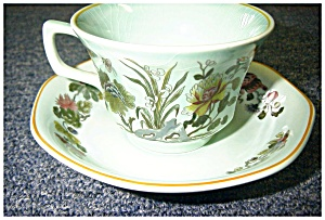 Cup And Saucer-adams By Wedgwood