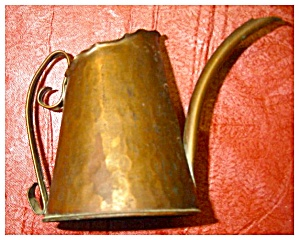 Copper Pitcher, Signed (Image1)
