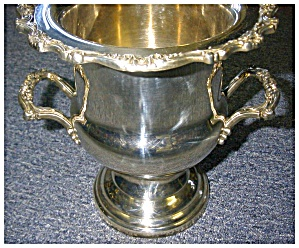 Champagne Bucket, Silverplate (Image1)
