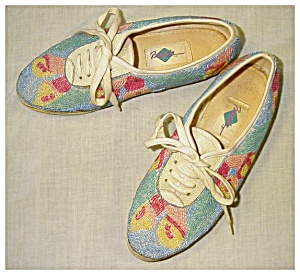 Tennis Shoes, Beaded (Image1)
