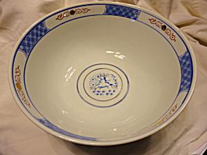 Large Oriental Porcelain Bowl (Image1)