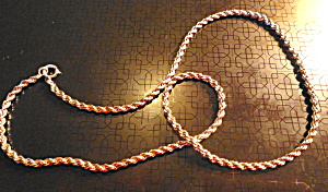 Sterling Silver Chain Necklace (Image1)