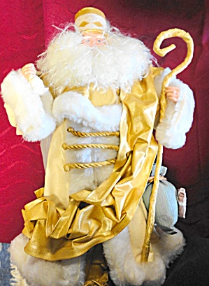 Gold and White Santa (Image1)