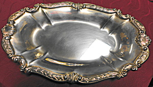 Oval Silverplate Serving Dish (Image1)