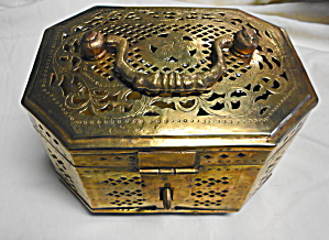 Large Brass Cricket Box (Image1)