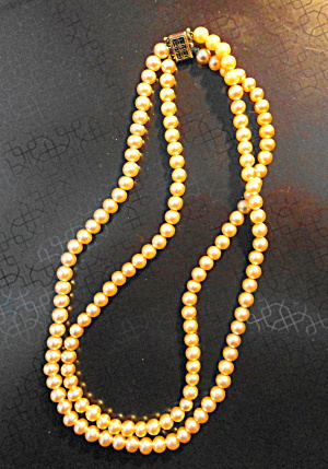 Pearl Double Strand Necklace (Image1)
