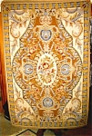 Click here to enlarge image and see more about item 1234: Needlepoint Rug, French Aubusson