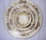 Click here to enlarge image and see more about item 1237: Wedgwood Bone China-Lichfield Pattern