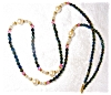 Click to view larger image of Necklace of Pearl and Aurora Borealis Beads (Image4)