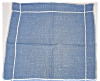 Click to view larger image of Blue Linen Luncheon Napkins (Image2)