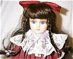 Click here to enlarge image and see more about item 1338: Camelot Porcelain Doll