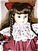 Click to view larger image of Camelot Porcelain Doll (Image3)