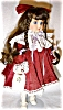 Click to view larger image of Camelot Porcelain Doll (Image4)
