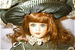Click here to enlarge image and see more about item 1339: Seymour Mann Porcelain Doll, Carole