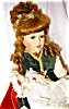 Click to view larger image of Seymour Mann Porcelain Dolls, Sabrina and Baby (Image6)