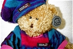 Click here to enlarge image and see more about item 1363: Teaton Toasters Bear by Princess