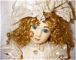 Click here to enlarge image and see more about item 1380: Francine Cee Porcelain Doll
