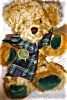 Click to view larger image of Hermann Mohair Bear, Hip Hop Hop (Image2)