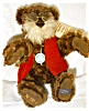 Click to view larger image of Hermann Mohair Bear, Mr. Rudy, German Artist (Image3)