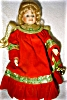 Click to view larger image of Seymour Mann Porcelain Treetop Angel Doll (Image2)