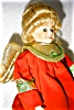 Click to view larger image of Seymour Mann Porcelain Treetop Angel Doll (Image3)